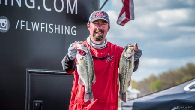 Jason Sandidge (co-angler, 13-14).