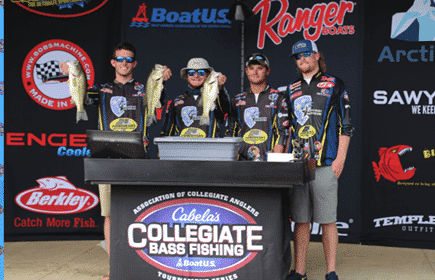 MURRAY STATE KEEPS THEIR LEAD TO WIN  2017 CABELA'S COLLEGIATE BASS FISHING OPEN