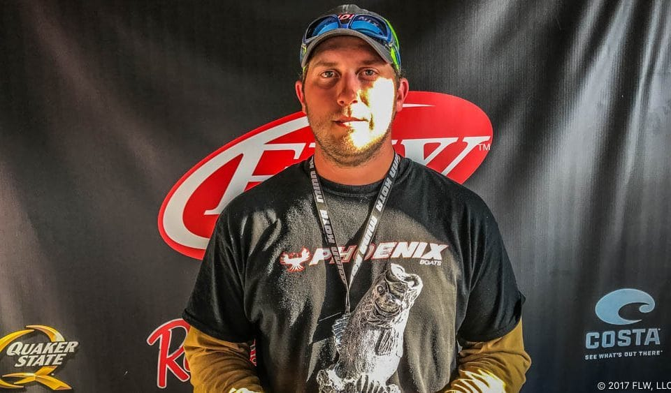 LOUISIANA'S ORMOND WINS T-H MARINE FLW BASS FISHING LEAGUE ARKIE DIVISION EVENT ON LAKE GREESON PRESENTED BY GEARED