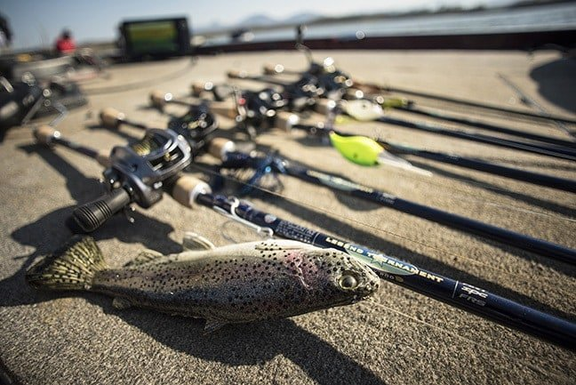 Going to Great Lengths - St. Croix debuts a half-dozen extra-long, Legend Tournament Bass casting rods at the Bassmaster Classic