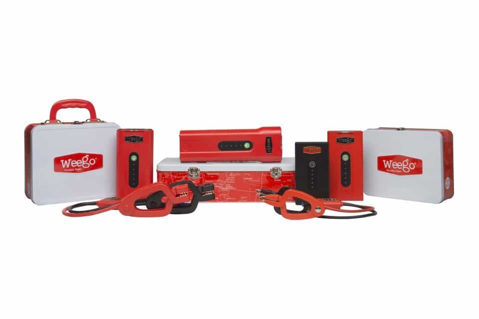 NEW WEEGO LINE OF JUMP STARTERS AVAILABLE – EVERYDAY MULTIPURPOSE BATTERIES STARTING AT $69