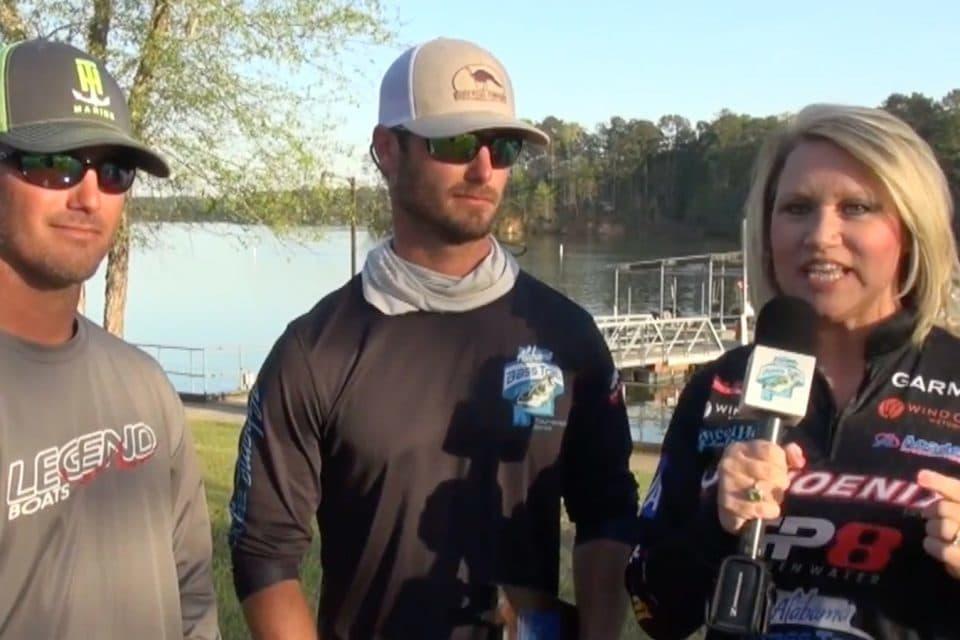 Alabama Bass Trail - Winner Interviews from Lake Martin