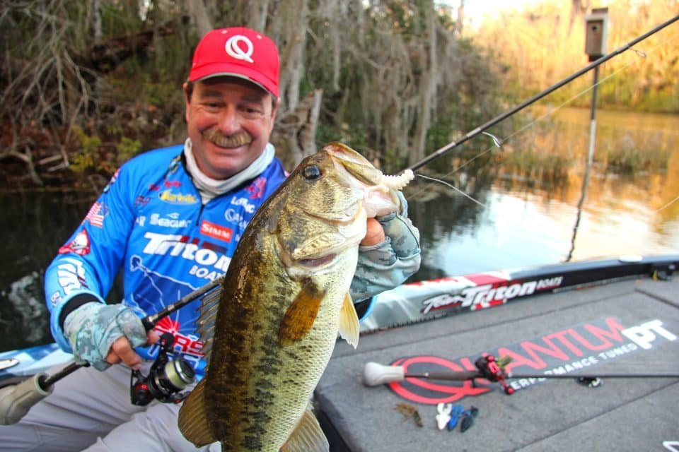 Shaw Grigsby offers Five Tips  To Catch More Spawning Bass