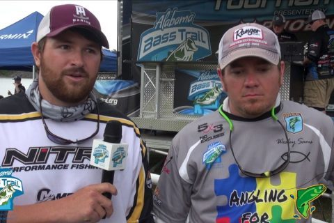 Winners Interview - Alabama Bass Trail North Division - Smith Lake