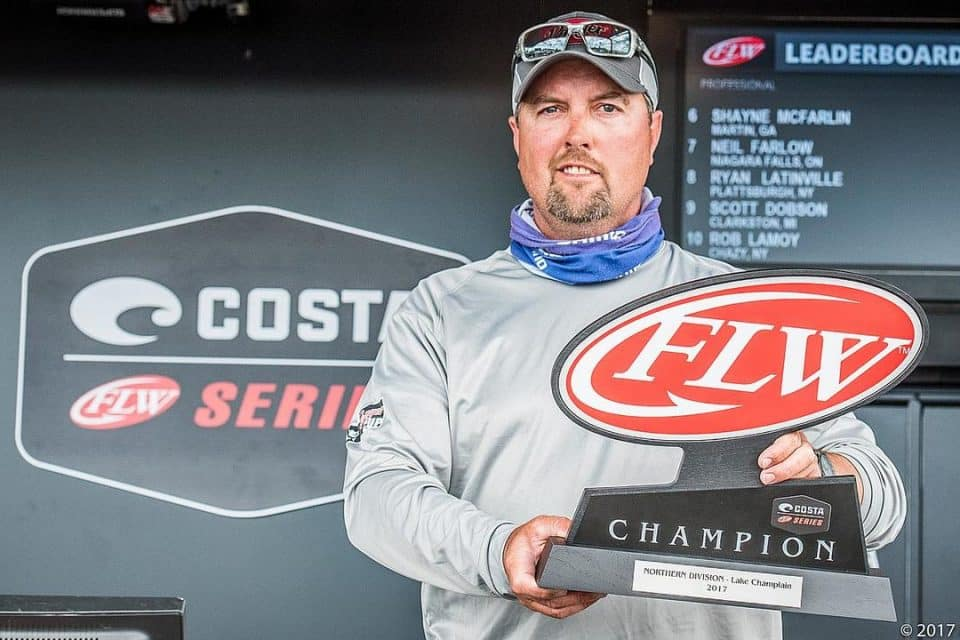RON NELSON WINS COSTA FLW SERIES NORTHERN DIVISION EVENT ON LAKE CHAMPLAIN PRESENTED BY POWER-POLE