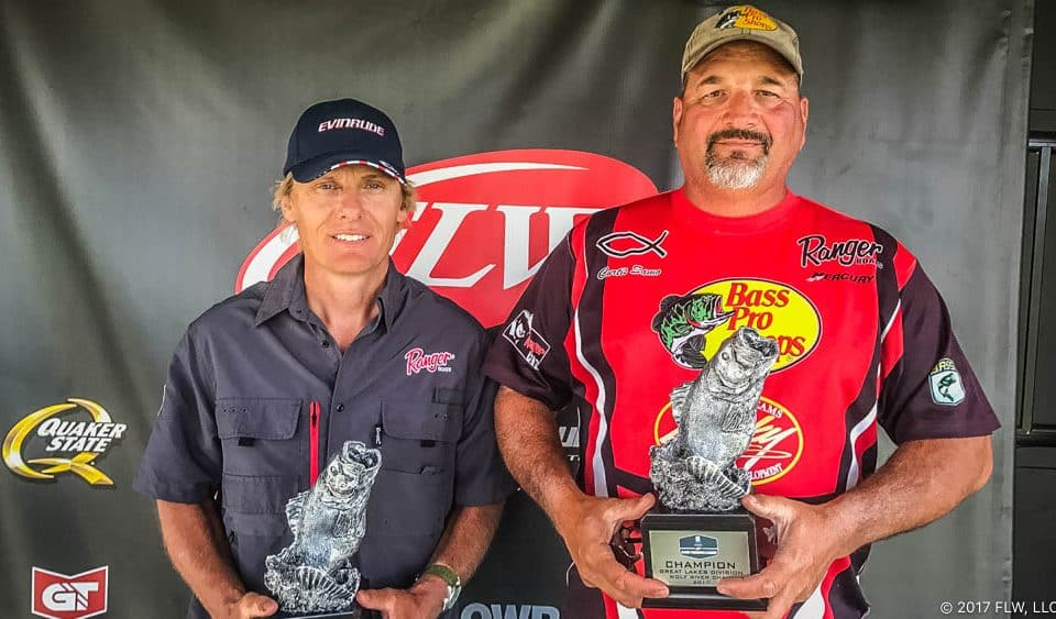 SAMO, FELDERMANN TIE FOR WIN AT T-H MARINE FLW BFL GREAT LAKES EVENT ON WOLF RIVER CHAIN