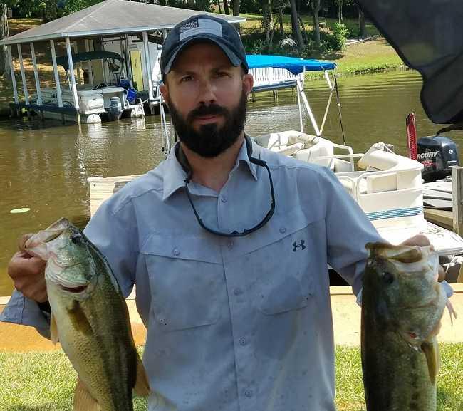 Tj svec wins third aba division victory on lake gaston for Lake gaston fishing