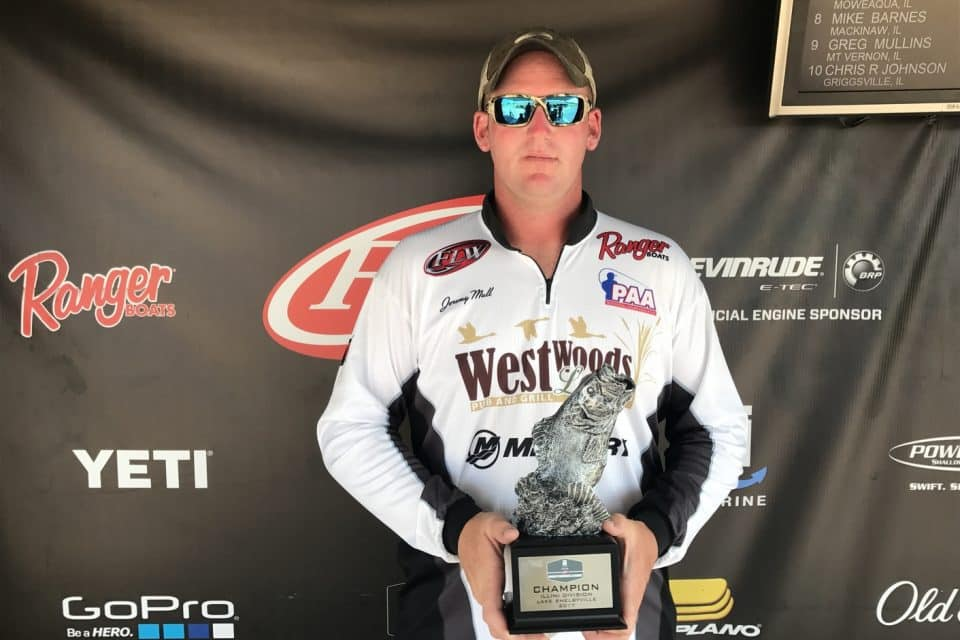 MULL WINS T-H MARINE FLW BFL ILLINI DIVISION TOURNAMENT ON LAKE SHELBYVILLE PRESENTED BY NAVIONICS