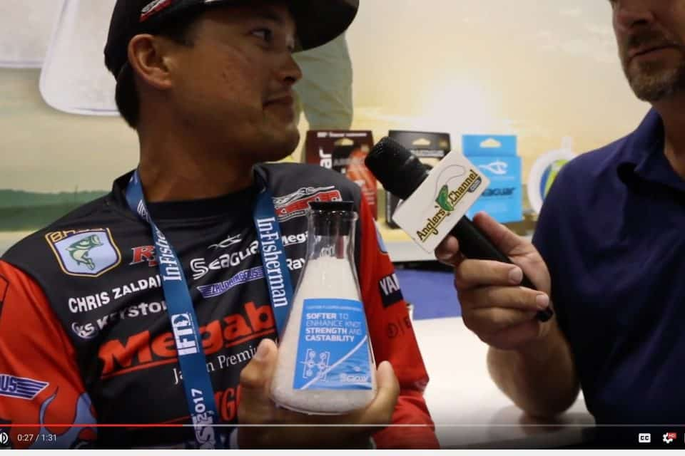 Chris Zaldain Talks Seaguar Fluorocarbon Resin and How and Why its the Best!