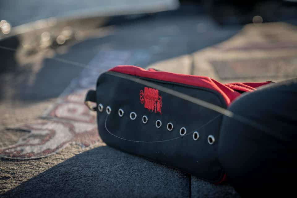 Elite Series Pro Justin Lucas Shows off his new Bass Mafia Line Bag and Why He Likes it so much!