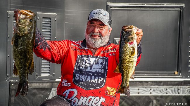 Horton Hammers 24-13, Leads by an Ounce! 20 Pound Limits Abound in FLW Tour Event on Harris Chain!