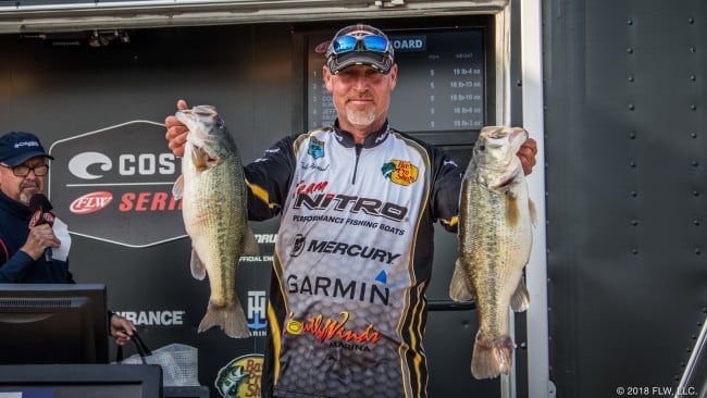 Hartsell Leads Day 1 of SW Costa on Grand Lake