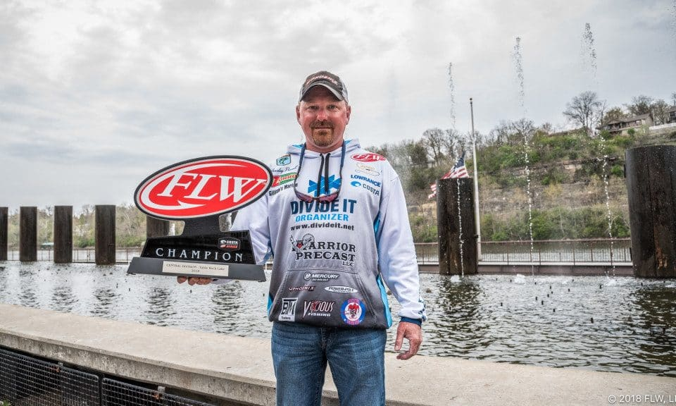 TENNESSEE'S POWELL WINS COSTA FLW SERIES CENTRAL DIVISION OPENER ON TABLE ROCK LAKE
