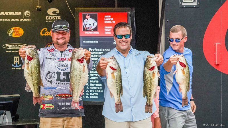 LAMBERT CATCHES RECORD-BREAKING LIMIT TO TAKE LEAD AFTER DAY THREE OF FLW TOUR AT KENTUCKY LAKE PRESENTED BY COSTA SUNGLASSES