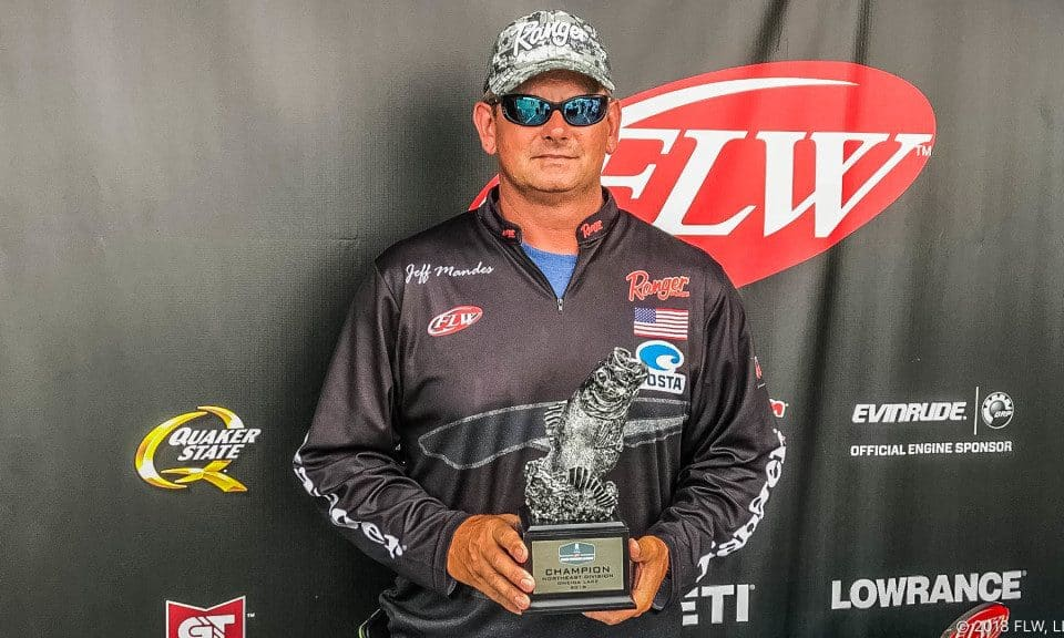 MANDES WINS T-H MARINE FLW BFL NORTHEAST DIVISION TOURNAMENT ON ONEIDA LAKE