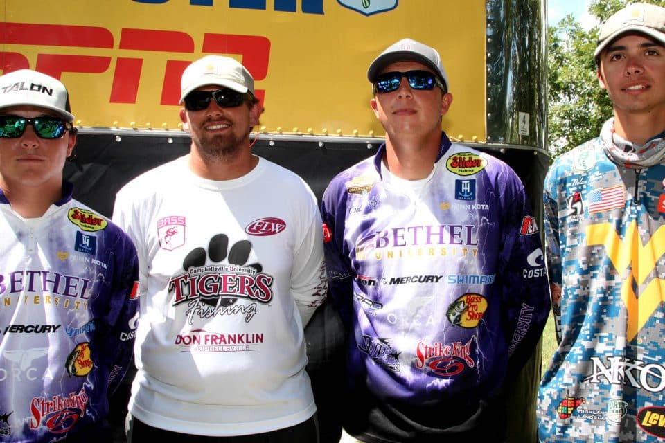 College Anglers Go Head-To-Head In Battle For Bassmaster Classic Berth