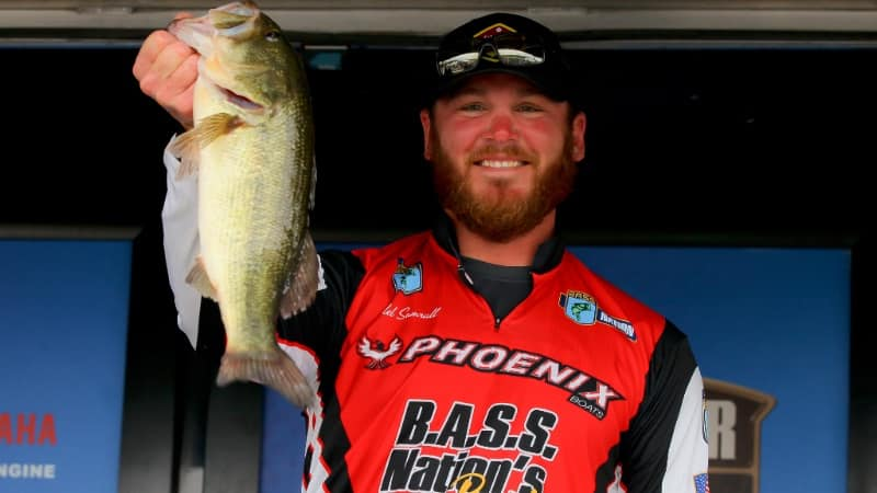 Caleb Sumrall Takes Lead In Bassmaster Opens Championship At Table Rock