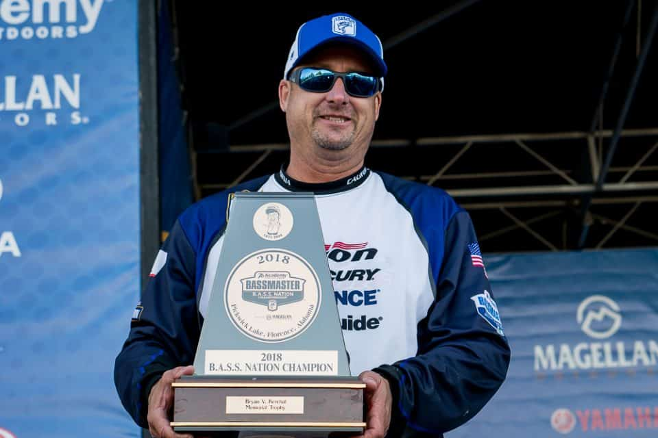 California's Randy Pierson Wins B.A.S.S. Nation Championship At Pickwick