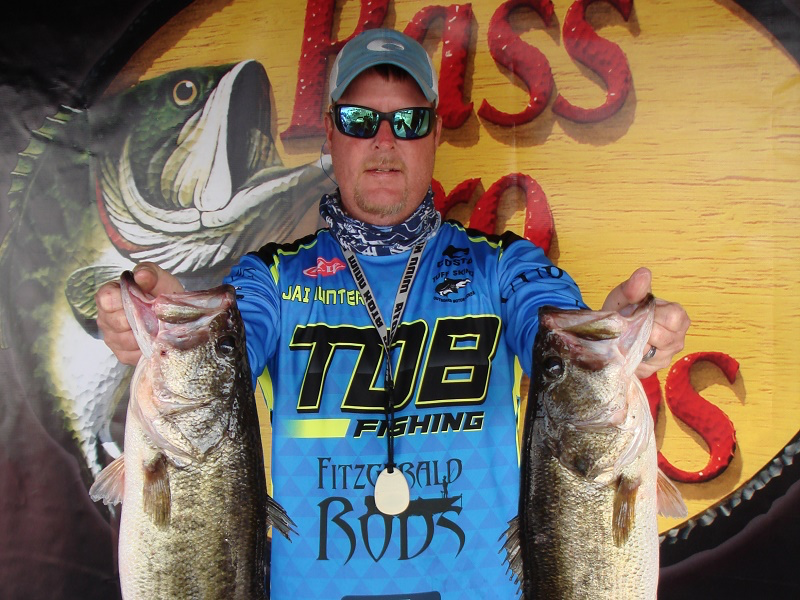 Jai Hunter Sr. Wins ABA Open Series on Okeechobee with over 18 pounds for the win and $5500