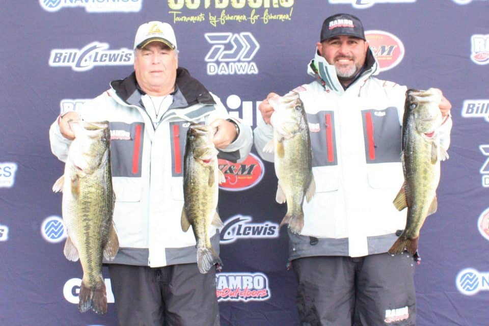 Rambo & Clark win Outlaw Outdoors Sweet 16 tournament on Sam Rayburn with over 26 pounds!