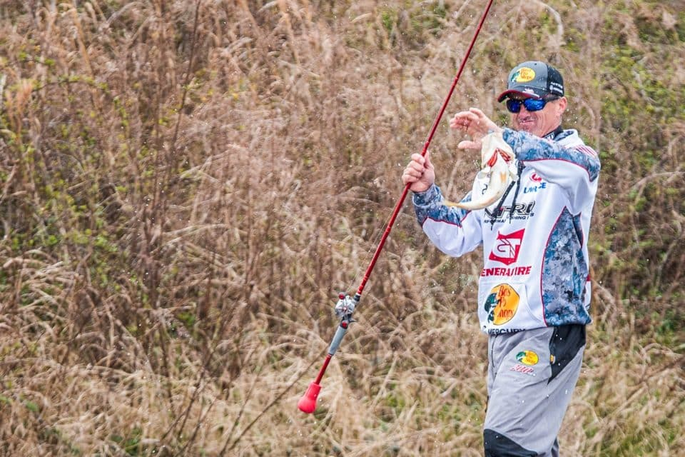 Evers wins MLF Bass Pro Tour event on Lake Conroe