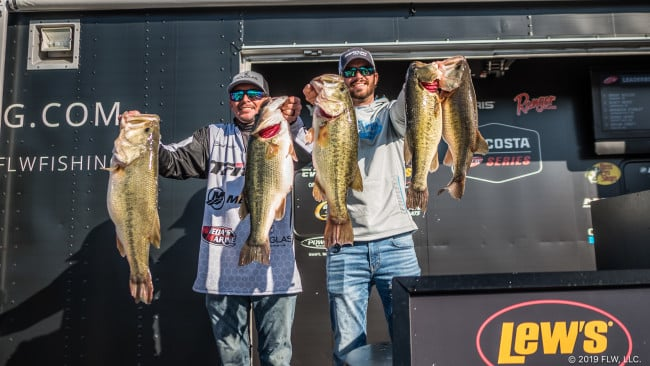 Butler moves from 40th to First with 37-5 Limit in Costa on Chickamauga!!!!