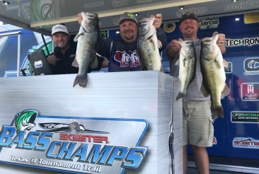 Walker & Stroman drop 29.87 on the scales to win the Bass Champs Ray Roberts Event!