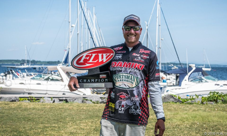 THRIFT GOES WIRE-TO-WIRE, WINS COSTA FLW SERIES TOURNAMENT ON LAKE CHAMPLAIN