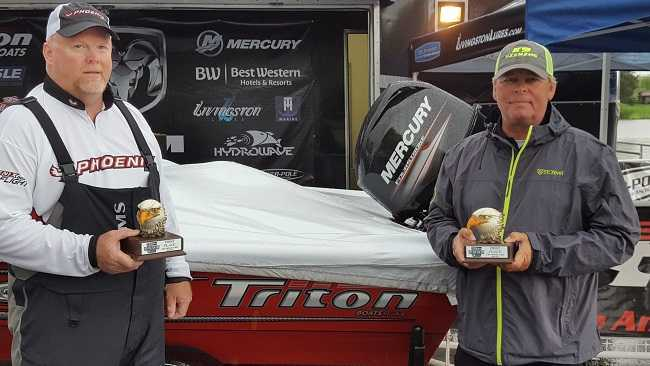 388e89f0 Gross and Albert win ABA RAM 100% Plus Team Tour on Old Hickory with over  20 pounds!