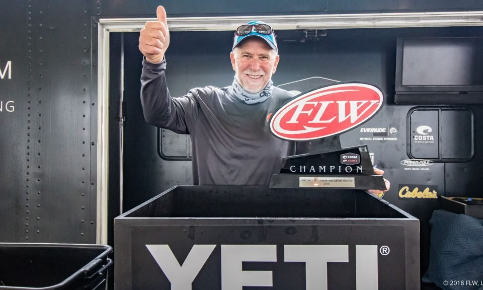 Day 3 of Costa on Sam Rayburn Cancelled due to Heavy Fog, Lasyone Wins!