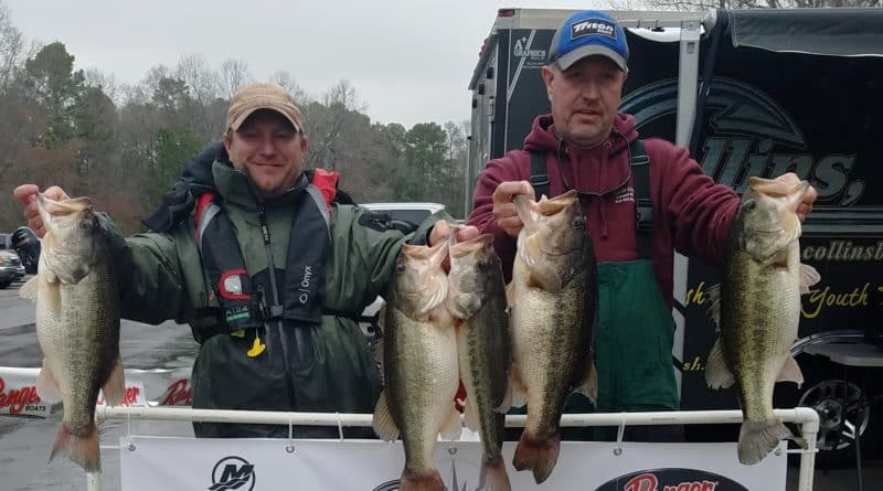Gray & Massey Drop 34-pound + Limit on the Scales to Win Collins Bash for Cash on Jordan Lake!