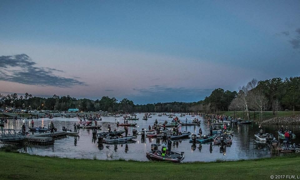 Lake seminole set to host yeti flw college fishing event for Lake seminole fishing