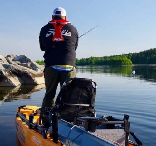 Anatomy Of A Win Ner Hobie Kayak Pro File Anglers Channel