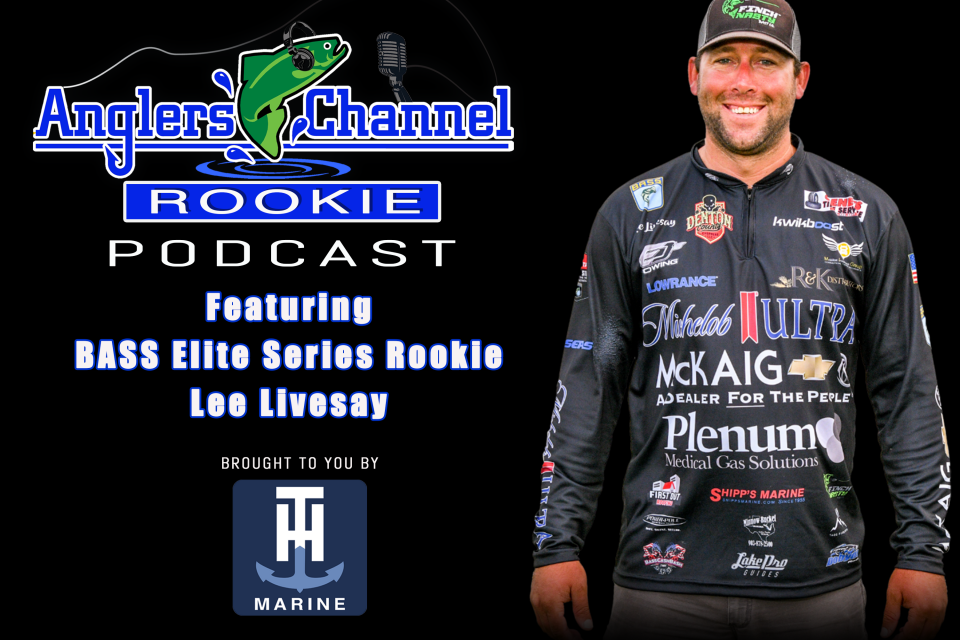 AC Rookie Podcast with Bassmaster Elite Series Rookie Lee Livesay