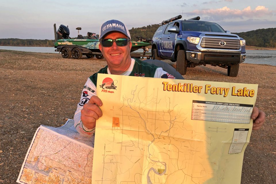 How Scott Canterbury finds bass on lakes he's never fished