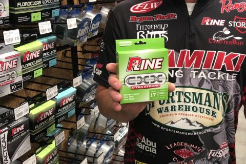 Sportsmans Product Spotlight - Bryan Thrift talks Fall Fishing, Topwater and PLine