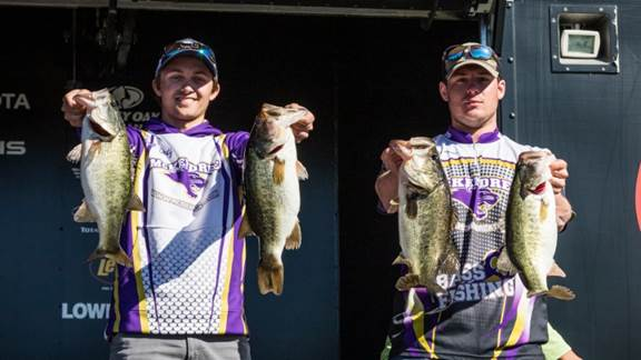 McKendree University Moves to Top at Abu Garcia College Fishing presented by YETI National Championship presented by Lowrance on the Harris Chain