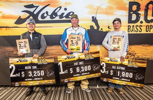 KAYAK ANGLERS SEE SUPER ACTION IN 2020 HOBIE B.O.S. ON LAKE NORMAN